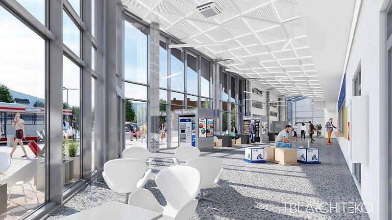Poczekalnia dworca we Wrzeszczu stanie się jaśniejsza, większa i przyjaźniejsza