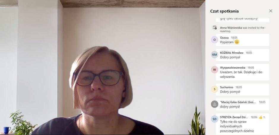 Środowe kolegium poprowadziła Sylwia Betlej, kierownik Referatu Partycypacji Społecznej i Rad Dzielnic