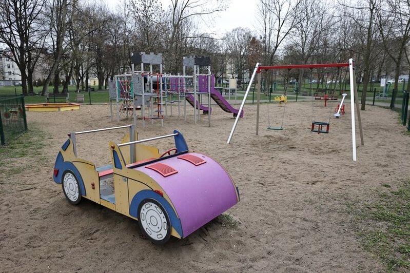 Plac zabaw w Parku św. Barbary powstał dzięki środkom z Budżetu Obywatelskiego