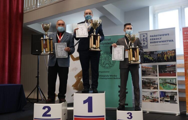 Olimpiada wyłoniała też trzy najlepsze szkoły budownictwa w Polsce, a okazał się nią Zespół Szkół Ogólnokształcących i Zawodowych w Limanowej