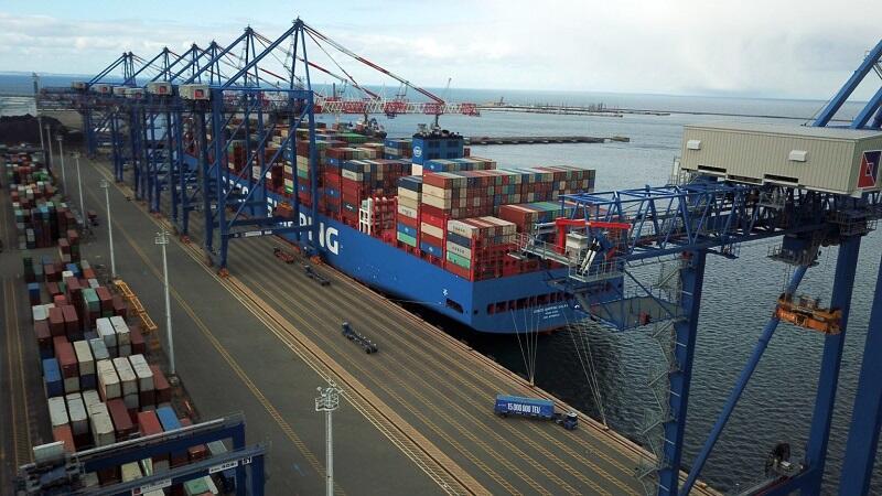 Terminal kontenerowy DCT w Porcie Gdańsk