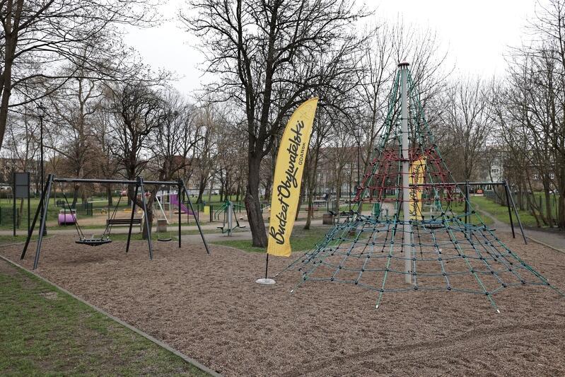 Ruszyły przygotowania do gdańskiego Budżetu Obywatelskiego 2022. Na zdjęciu Park św. Barbary w Śródmieściu, który zmienia swoje oblicze dzięki kolejnym edycjom BO
