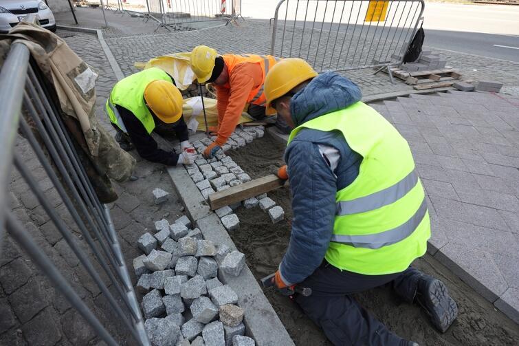 Prace wzdłuż Wałów Jagiellońskich powinny zakończyć się najpóźniej w czerwcu br.