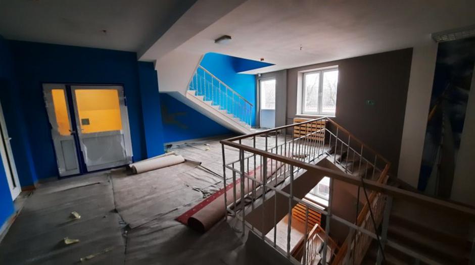 Remont siedziby MOPR przy ul. Leczkowa trwa już 10 miesięcy. Prace powinny zakończyć się w połowie bieżącego roku