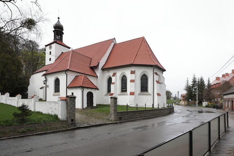 Historia kościoła w Świętym Wojciechu sięga XIV wieku