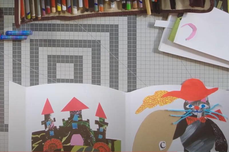 """Warsztaty """"Nowa okładka ulubionej książki: zrób to sam!"""" poprowadzi ilustratorka Magdalena Kupiec, która w swoich pracach stawia na mocne, kontrastowe kolory, zgeometryzowaną formę oraz tekstury"""