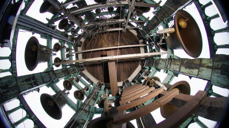Carillon na wieży Ratusza Głównego Miasta