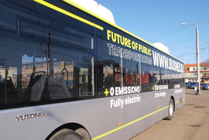 Elektryczny autobus testowy będzie jeździł po gdańskich ulicach przez dwa tygodnie, od 29 kwietnia począwszy