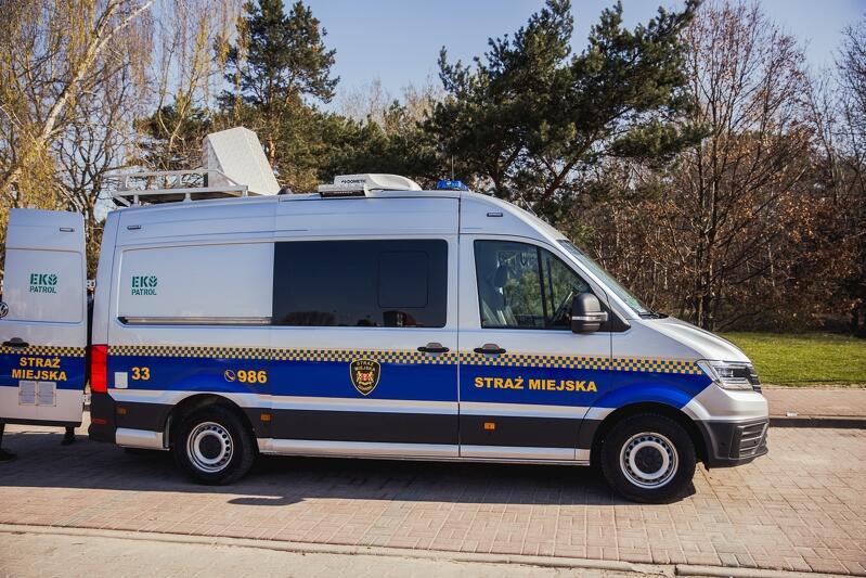 Pojazd specjalistyczny Straży Miejskiej w Gdańsku, zwany niekiedy Smogobusem