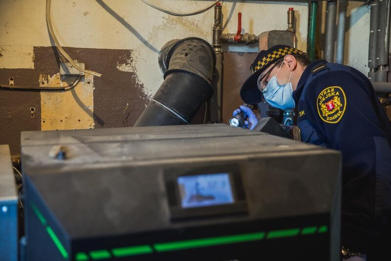 Piec V klasy na pelet, choć nowy, po 1 lipca 2035 roku nie będzie mógł już być używany na Pomorzu, ponieważ pelet to paliwo stałe (od tej daty jego stosowanie będzie zabronione)