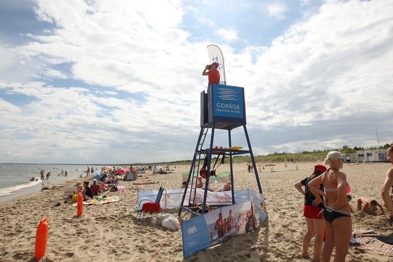 Sezon bezpiecznych kąpieli na miejskich plażach rozpocznie się 25 czerwca