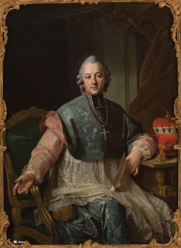Ignacy Krasicki, portret Per Kraffta (starszego) z około 1767 roku