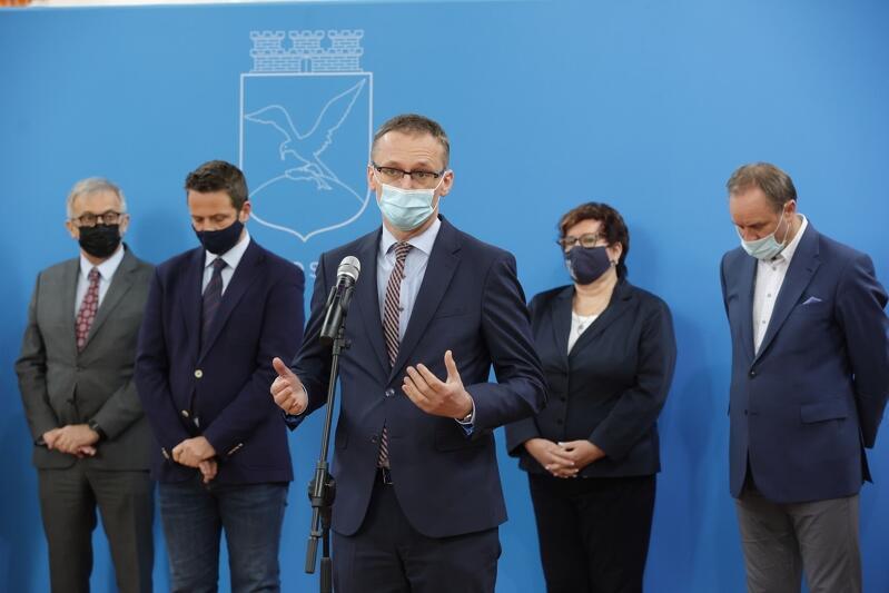 Janusz Wróbel, burmistrz Pruszcza Gdańskiego