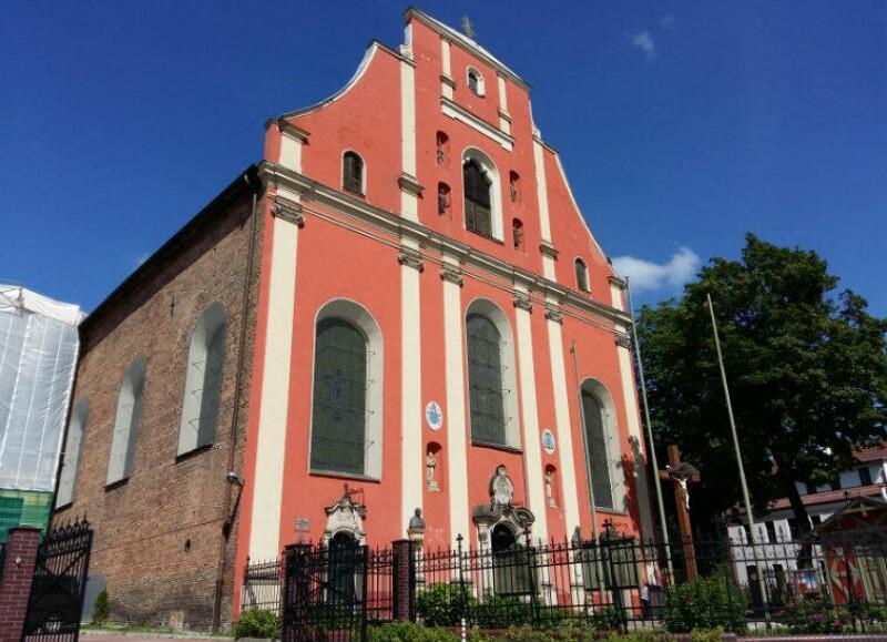Kościół św. Ignacego na Oruni wygląda dziś nieco inaczej niż w czasach nauki Wybickiego. Został poważnie uszkodzony w epoce wojen napoleońskich i odbudowano go bez dwóch wież, które posiadał jeszcze na początku XIX wieku