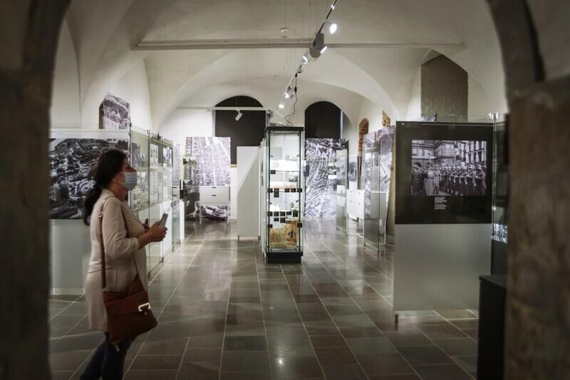 Oddziały Muzeum Gdańska będą otwierane dla odwiedzających stopniowo. Nz. Ratusz Głównego Miasta