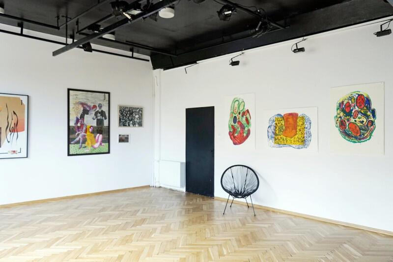 Prace Karola Lewalskiego i Łukasza Butowskiego zobaczyć można w galerii Plamy