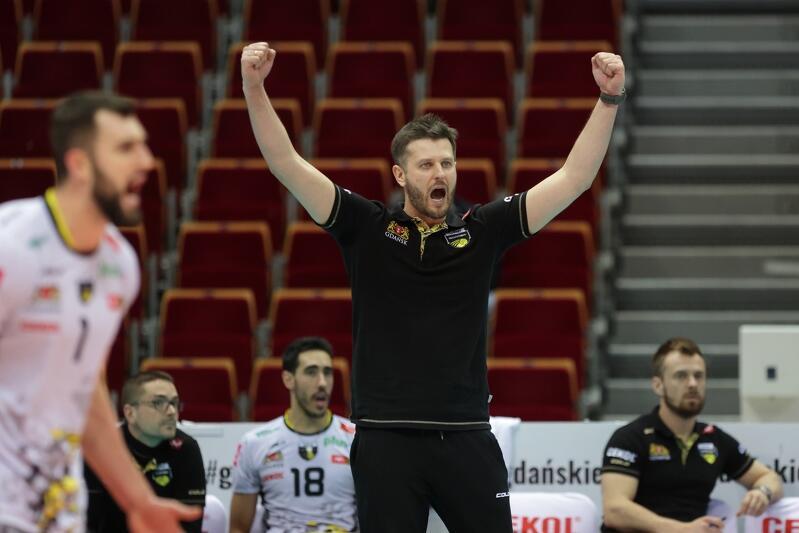 Michał Winiarski trenerem Trefla Gdańsk jest od sezonu 2019/2020