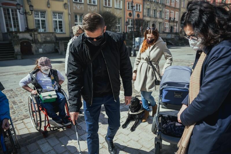 Oosbom testującym towarzyszyła prezydent Gdańska Aleksandra Dulkiewicz