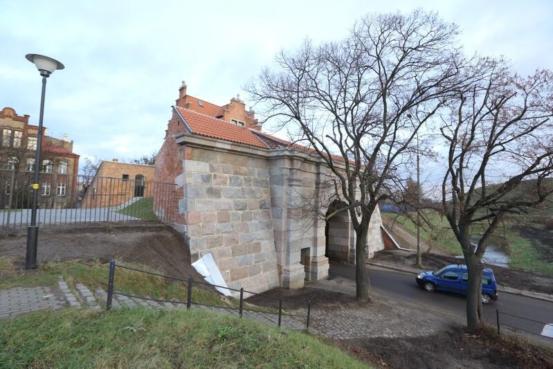 Brama Nizinna w Gdańsku