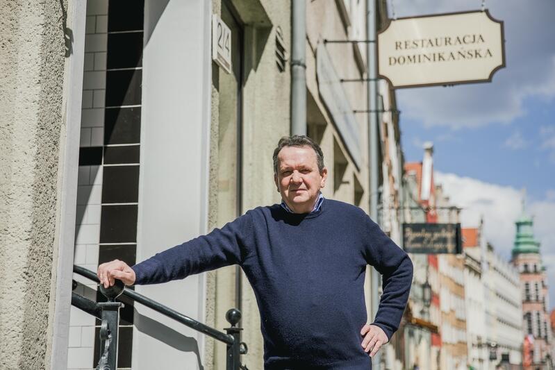Waldemar Maciejewski właściciel Restauracji Dominikańskiej
