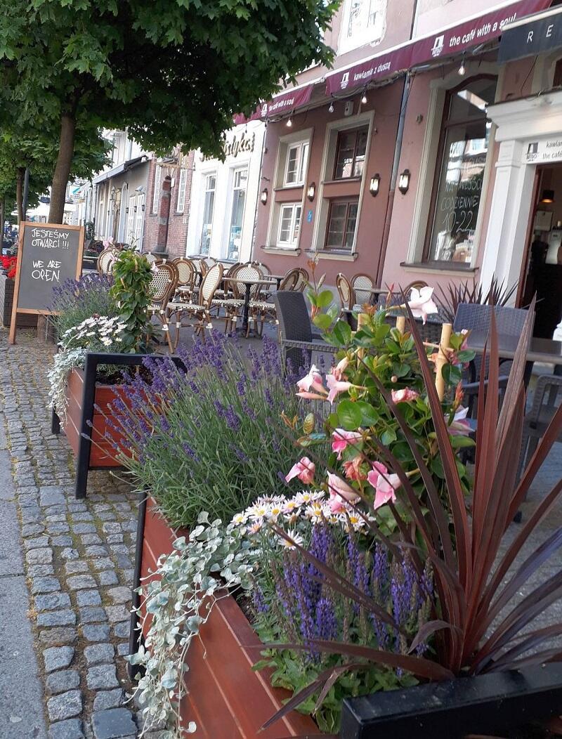 Kawiarnia Retro ze swoim ogródkiem przy ul. Piwnej - sezon 2020