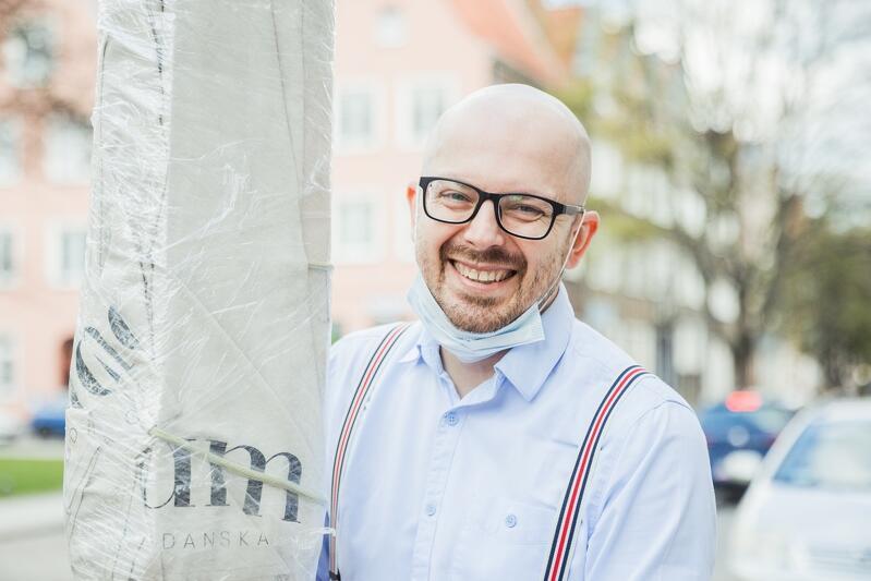Krzysztof Ilnicki właściciel kawiarni UMAM