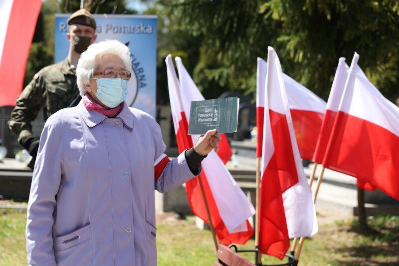 Maria Wieloch, prezes Stowarzyszenia Rodzina Ponarska