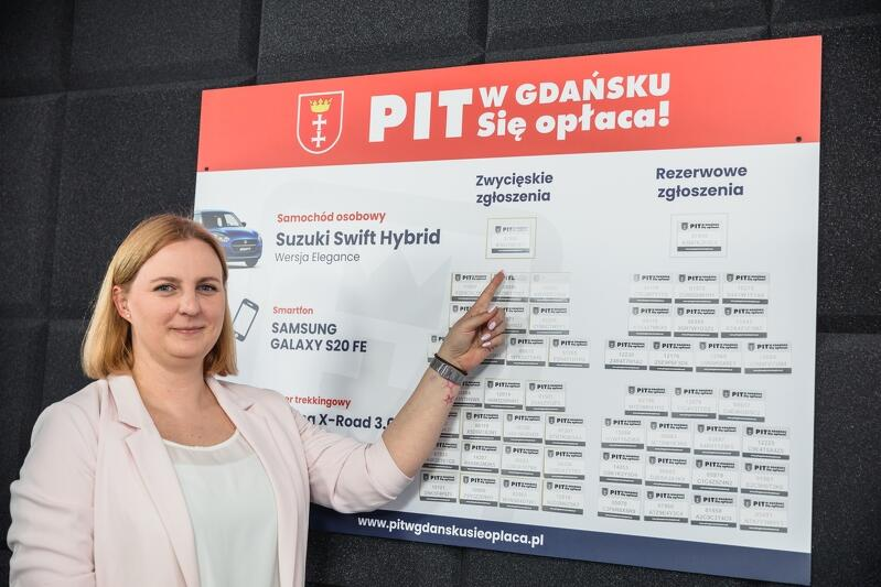 Właścicielem najważniejszego losu w 5. edycji loterii PIT w Gdańsku. Się opłaca, po raz drugi w historii tej zabawy jest mężczyzna