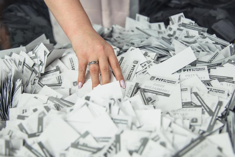 16 308 - dokładnie tyle osób zarejestrowało się w 5. edycji loterii PIT w Gdańsku. Się opłaca
