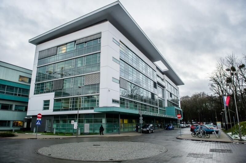 Fragment nowoczesnego budynku