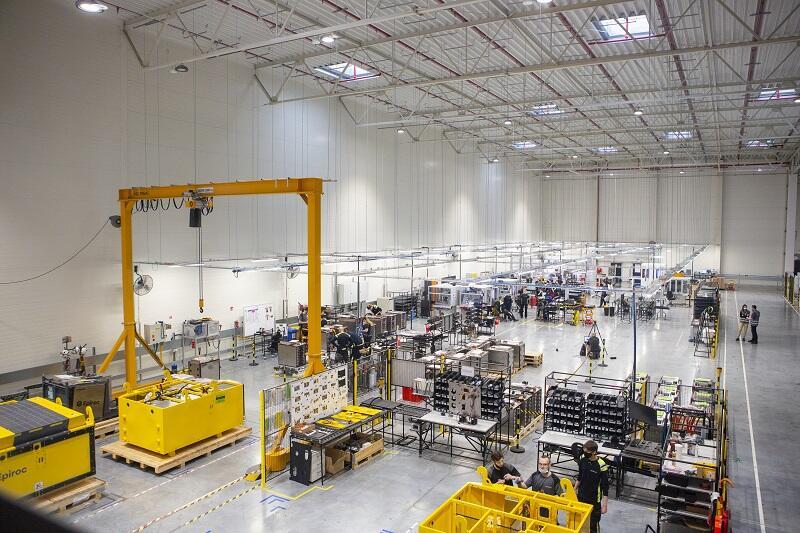 Aktualna fabryka Northvolt w Gdańsku mieści się przy ul. Elbląskiej