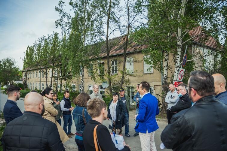 Na spotkanie z prezydent Gdańska przyszło ponad 20 mieszkańców ul. Marynarki Polskiej