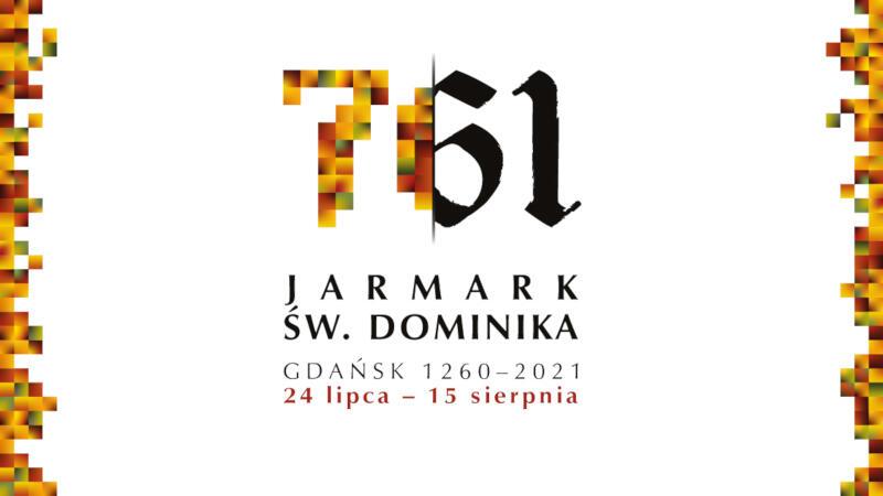 Tegoroczny Jarmark św. Dominika zyskał nową identyfikację wizualną - logo nabrało bursztynowych barw. Dlaczego bursztyn? Bo jesteśmy w Gdańsku!