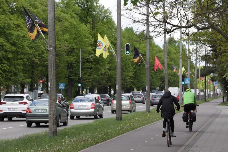 W całym Gdańsku wywieszono w sumie 2000 tysiące flag, są ich trzy rodzaje
