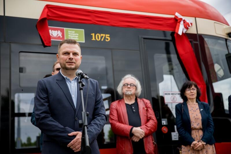 Christian Samp, syn patron tramwaju