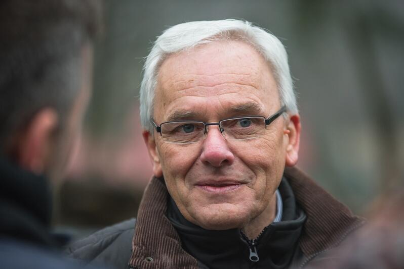Michał Targowski, dyrektor Gdańskiego Ogrodu Zoologicznego