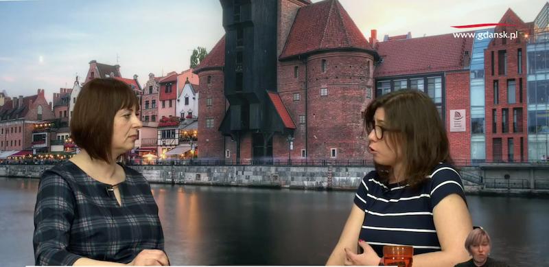 Nz. (od lewej): Anna Szentak w rozmowie z psychoterapeutką rodzinną Anną Jóźwiak