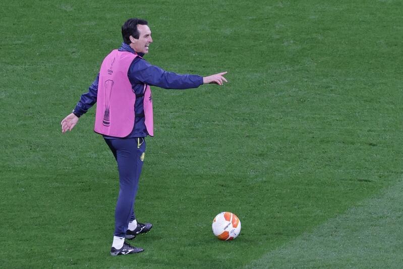 Unai Emery - trener Villarrealu, w którym kibice pokładają specjalne nadzieje. Już trzy razy wygrał Ligę Europy, jako szkoleniowiec Sevilli. Dlaczego nie miałby tryumfować po raz czwarty, z Villarrealem?