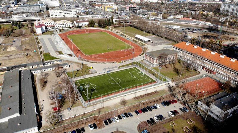 Na terenie Młodzieżowego Centrum Sportowego przy al. Grunwaldzkiej powstanie centrum rozgrzewkowe