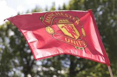 Flaga Manchesteru United