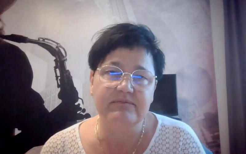 Nz. Joanna Cwojdzińska - przewodnicząca zarządu gdańskiego koła Polskiego Stowarzyszenia na rzecz Osób z Niepełnosprawnością Intelektualną
