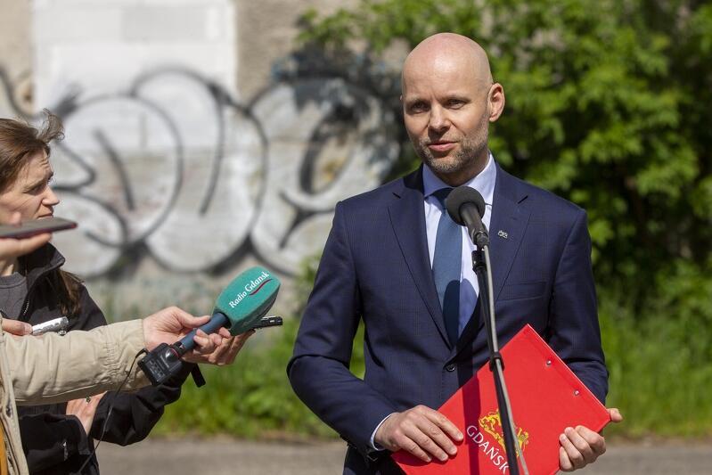 Alan Aleksandrowicz zastępca prezydent Gdańska ds. inwestycji