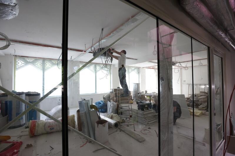 Jedna z czterech przestrzeni edukacyjnych Domu Zdrojowego, maj 2021