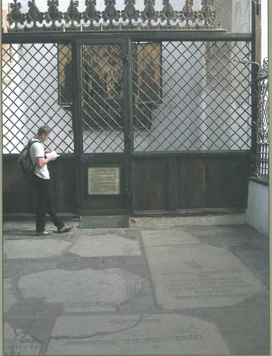 Płyta nagrobna Leczkowa i Hechta znajduje się w Kościele Mariackim przy kaplicy św. Jadwigi