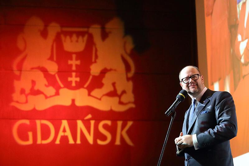 Śp. prezydent Gdańska Paweł Adamowicz