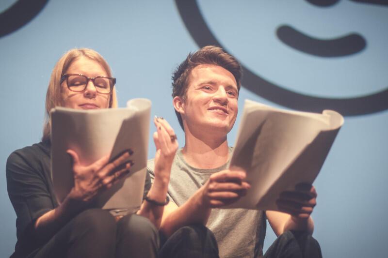 Czytanie wyreżyserował znany trójmiejskim widzom także z poprzednich realizacji na PC Dramie Tomasz Kaczorowski, a wystąpili Marta Kalmus-Jankowska i Mikołaj Bańdo
