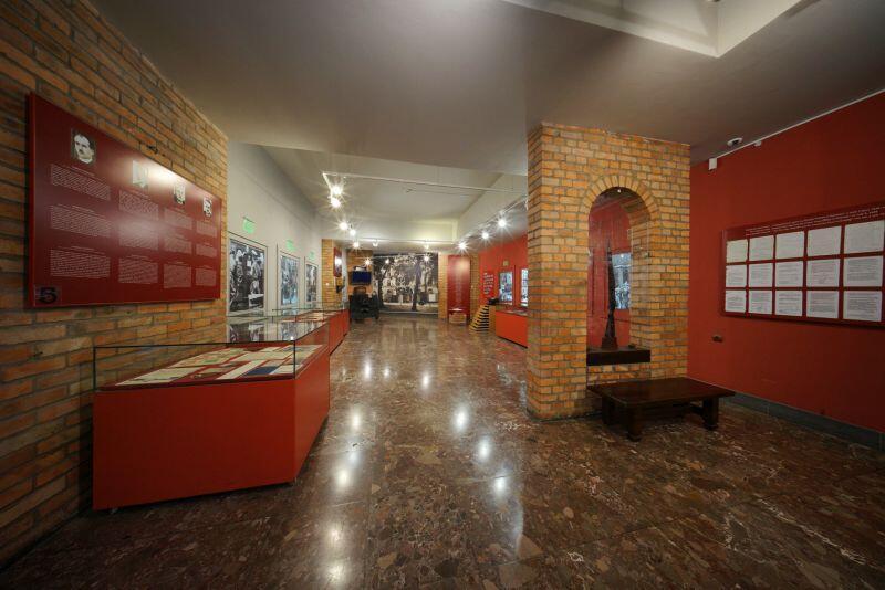 Obecne przestrzenie wystawiennicze w Muzeum Poczty Polskiej