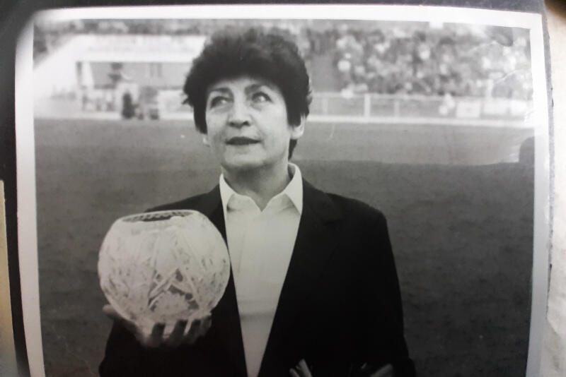 Irena Nadolna-Szatyłowska była pierwszą na świecie kobietę sędzią żużlowym