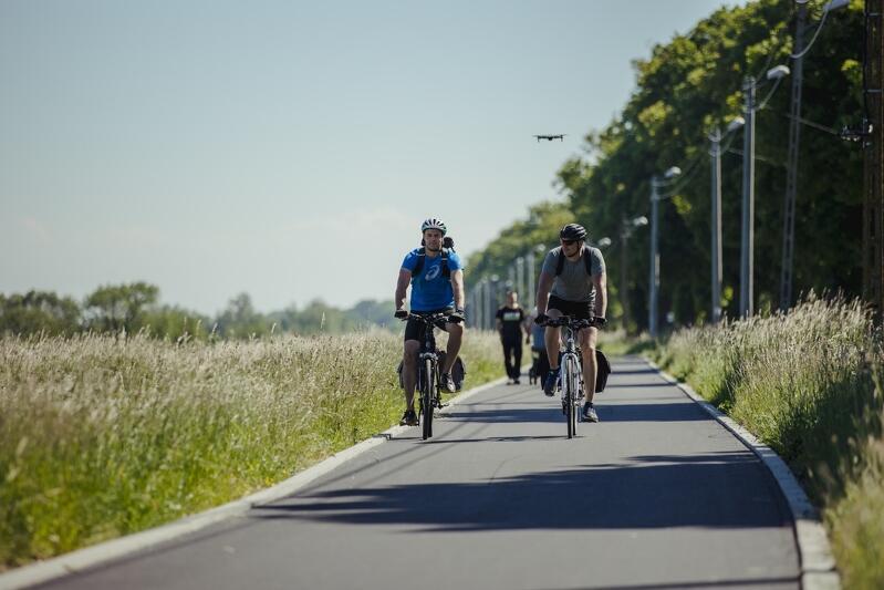 Wyspa Sobieszewska to już idealne miejsce do rowerowych wypraw. Z nowej drogi korzystać będą nie tylko turyści, ale też mieszkańcy