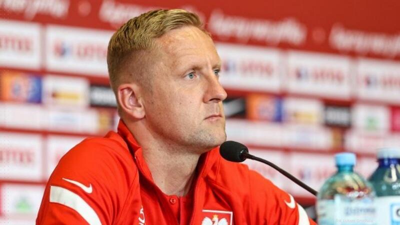 Z dziennikarzami spotkał się Kamil Glik